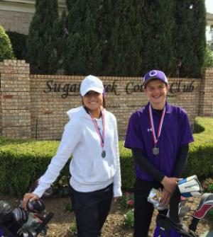 Two 2nd place medalist Sugar Creek Country Club FB Dulles Tournament