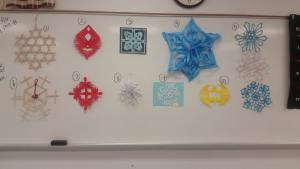 Snowflake competition 2015-2016:  Top Ten!