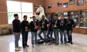 Team Members: Emiliano Perez, Richard Estrada, Brayan Del Angel, De'Veon Foster, Kayla Pruitt, Tayelin Grays, Brayant Gonzalez and Teacher: C. Brooks