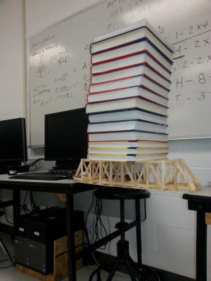 Bridge Building in Engineering Math