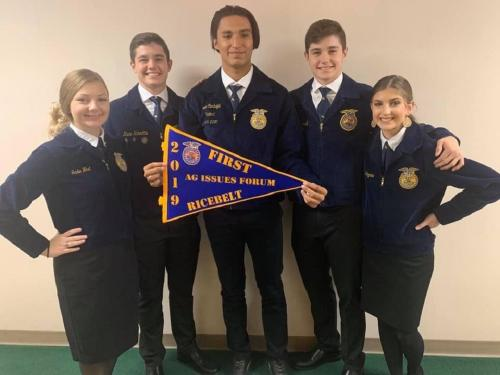1st place ag issues