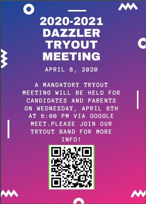 dazzler tryout