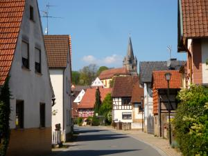This was the Main Street into Mürsbach from another town.  The area was in a region called Oberfranken, or Upper Frankonia.  The Frankisch are fiercely proud of being Frankisch and speak a dialect of German different from the rest of Bavaria.