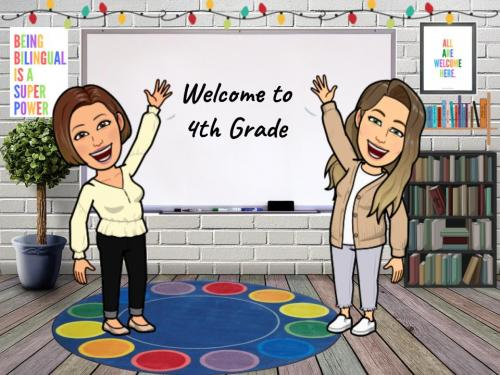 Bitmoji Classroom with both teachers