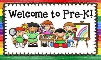 PreK Welcome