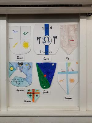 Medieval Studies Grades 7-8     Student Shields