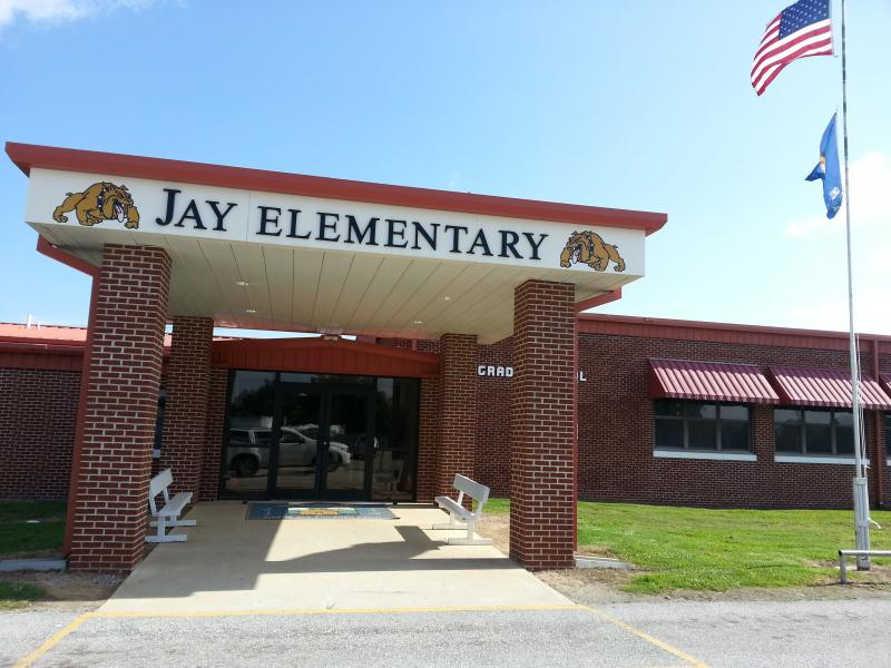 Landscape View facing Jay Elementary