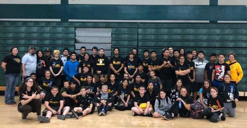 2019-20 Special Olympics Volleyball Team