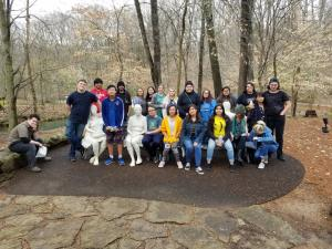 Art Club 2019 at Crystal Bridges Art Museum in Bentonville, Arkansas.