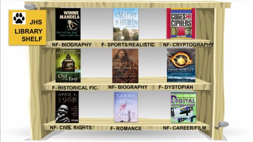 JHS Library Digital Bookshelf