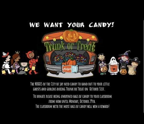 Candy Contest for Trunk or Treat!