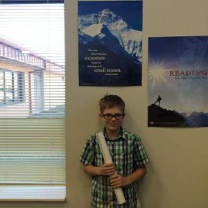 Rhythm Wakeland won the January Guessing Contest! Congratulations Rhythm!