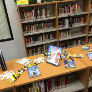 Winter books are on display - CHILL OUT with a COOL book!