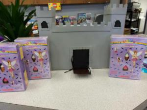 Shout out to Todd Hicks and family for creating the amazing castle that was displayed at our Fall Book Fair!