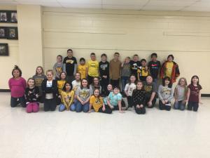 3rd Grade Parachute Routine Feb. 2020