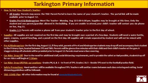 TPS Info