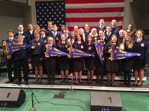 FFA Teams that participated in the Rice Belt LDE