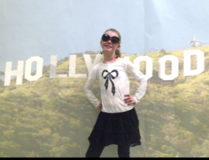 In Hollywood!