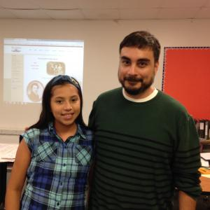 Mr. Velasquez's Student of the First 6 Weeks - Wendy Perez Gonzalez