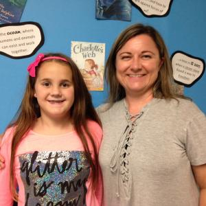 Mrs. Dauenhauer's Student of the First 6 Weeks - Chloe Jarvis