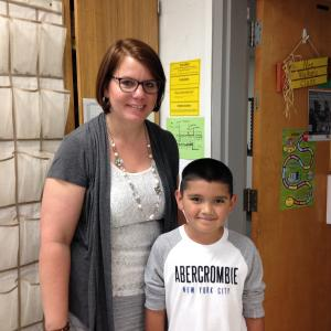 Mrs. Walker's Student of the First 6 Weeks - Izick Acosta