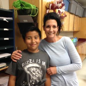 Mrs. Emmert's Student of the First 6 Weeks - Angel Marroquin