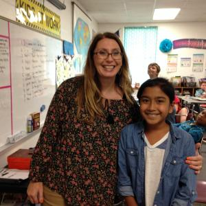 Mrs. May's Student of the First 6 Weeks - Mahina Qodirova