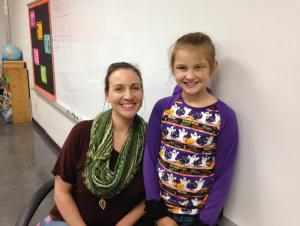 Mrs. Street's Student of the First 6 Weeks - McKenna Gallien