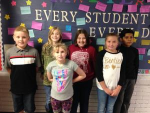 4th Grade Specials Stars of the First 6 Weeks