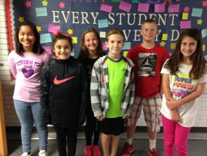 5th Grade Specials Stars of the First 6 Weeks