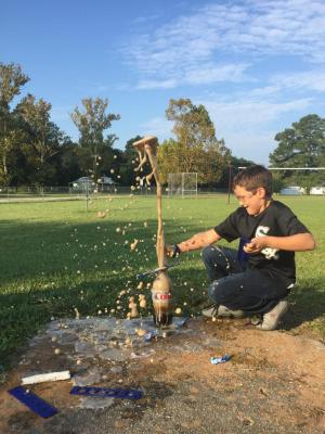 Diet Coke & Mentos - Physical or Chemical Change??