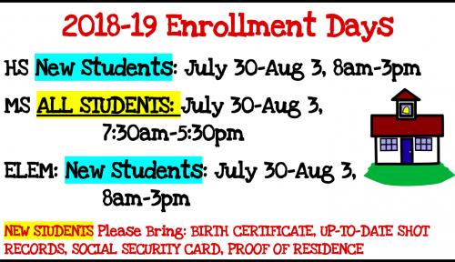 Enrollment Days