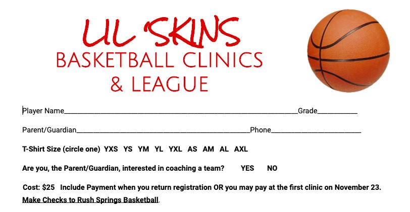 Click to Download Lil Skins Registration Form