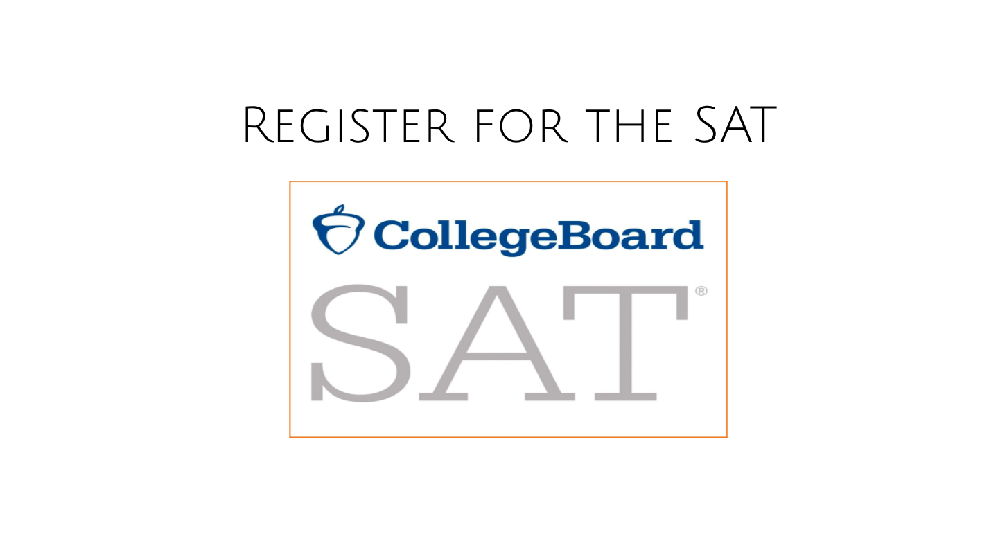 Click to register for SAT