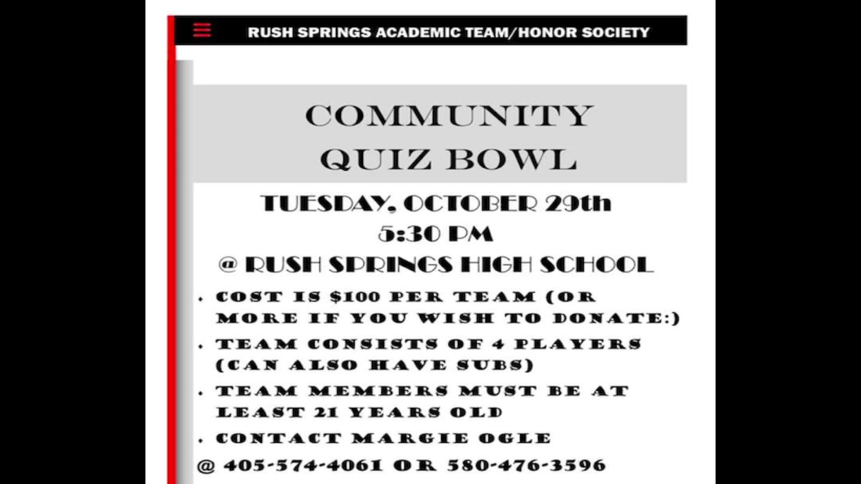 Community Quiz Bowl