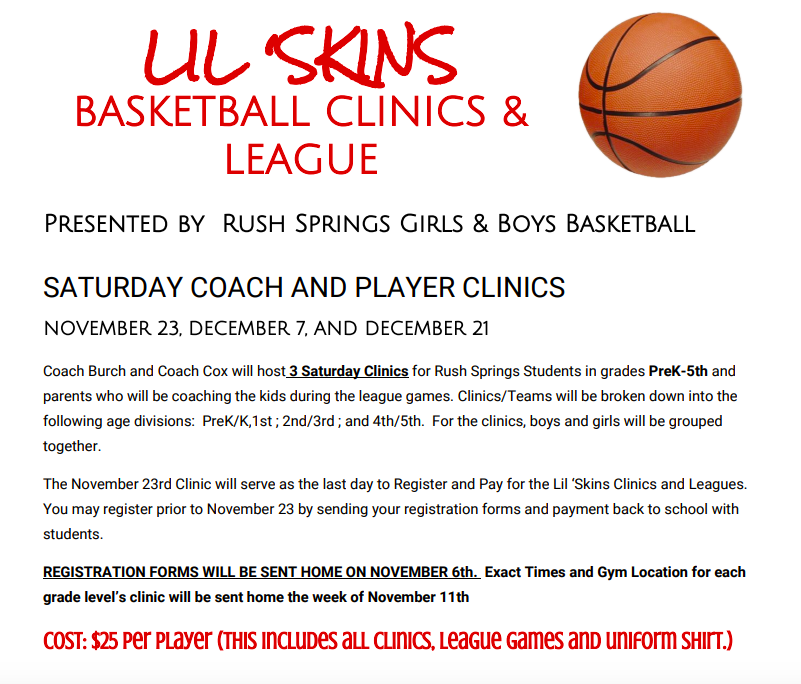 LIL SKINS BBALL - Click for INFO