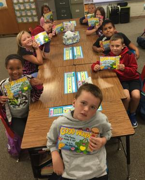We made our AR Reading Goal for the 1st 9 weeks!