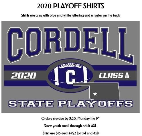 Playoff Tshirts