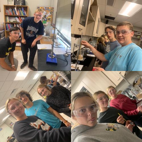 Mrs. Boecker's Chemistry Class