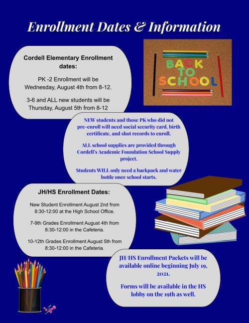 Enrollment Dates and Information