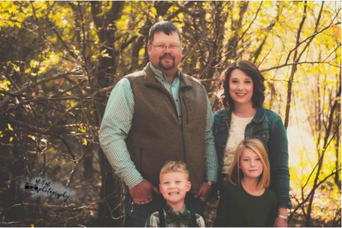Levi Jones and Family