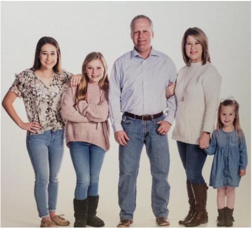Misti Gossen and Family