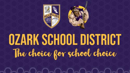 Ozark School District: the choice for school choice.