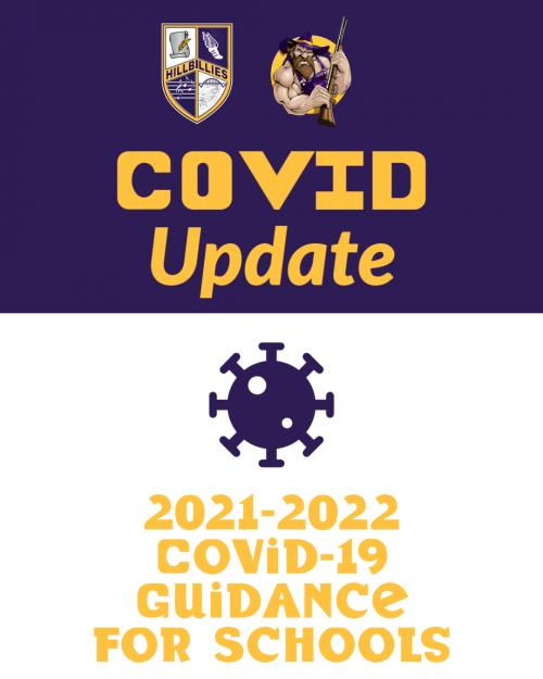 Covid-19 Update. 2021-22 Covid-19 Guidance for Schools.