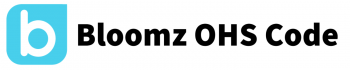 Bloomz logo with Bloomz OHS Code