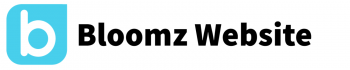 Bloomz logo with Bloomz Website