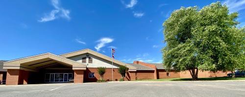 Picture of Ozark High School Building.