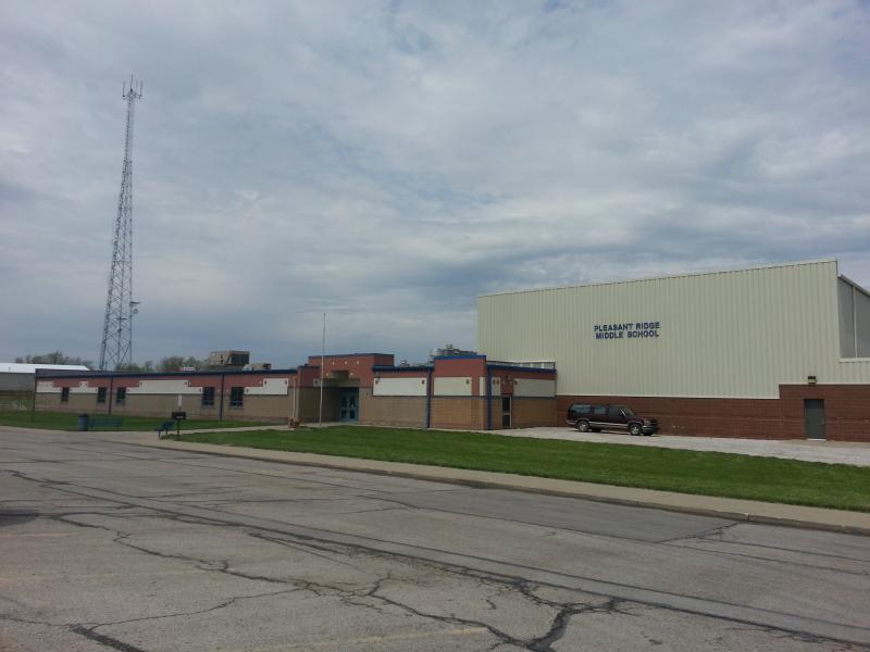 Landscape View facing Pleasant Ridge Middle School