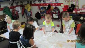 This was fun, they really enjoyed cleaning their hands in the soapy water