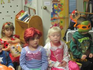 Where else can you have a Ninja turtle, and two princess's and a ladybug having fun?